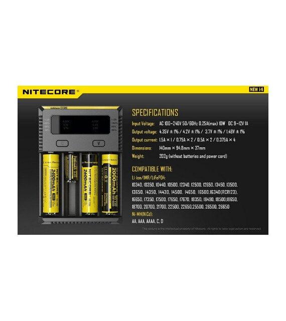 Nitecore Sysmax I4