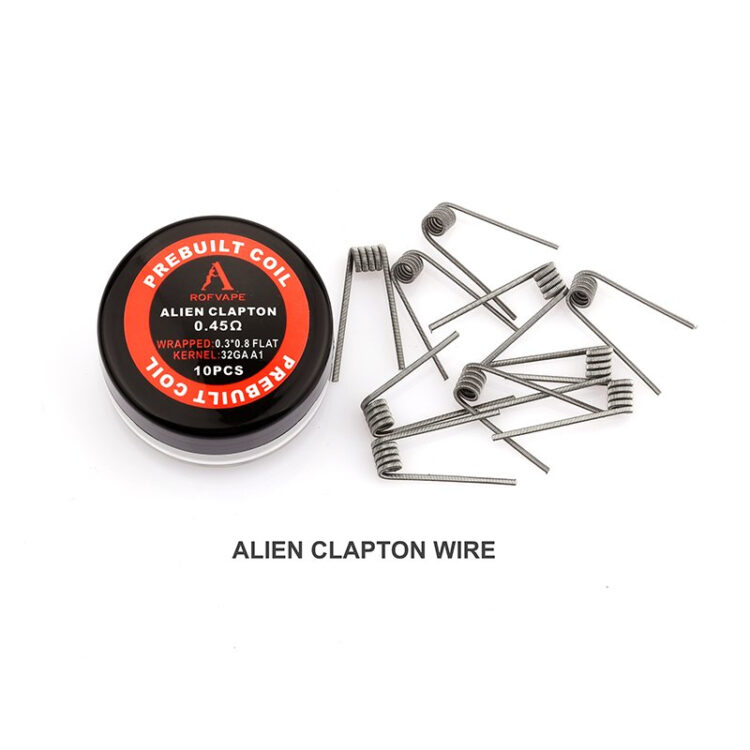 Alien Fertigwicklungen -Rofvape