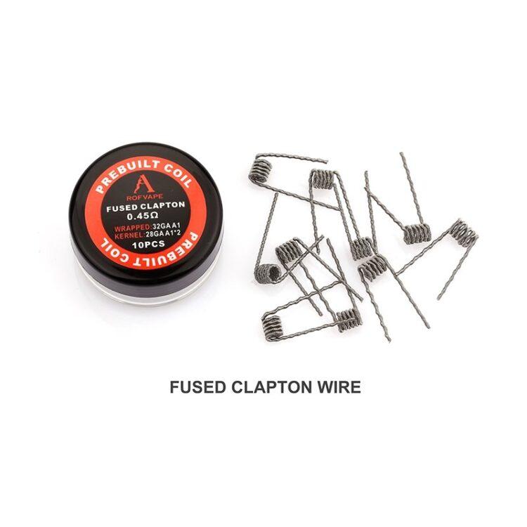 Fused Clapton Fertigwicklungen – Rofvape