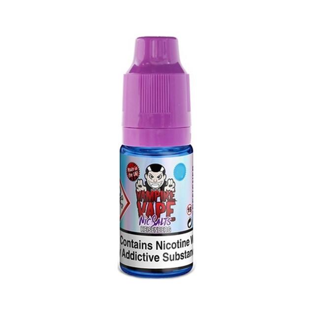 Heisenberg 10mg Nic Salt Liquid Vampire Vape