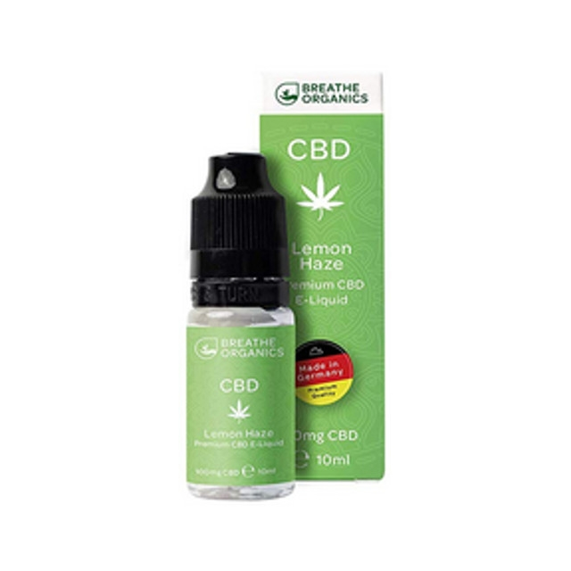 Lemon Haze Breathe Organics CBD Liquid