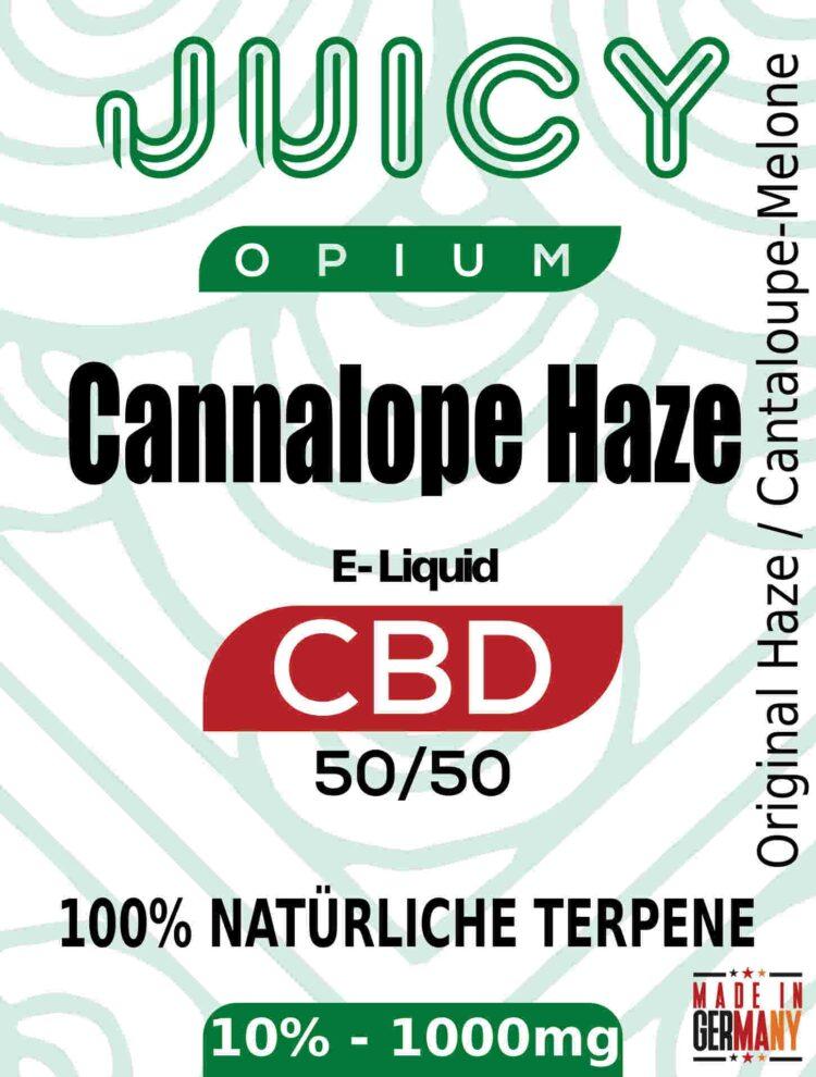 Cantaloupe Haze Juicy Opium CBD Liquid Terpene