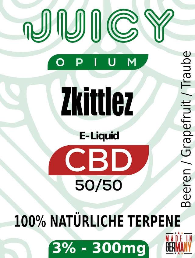 Zkittlez Juicy Opium CBD Liquid Terpene