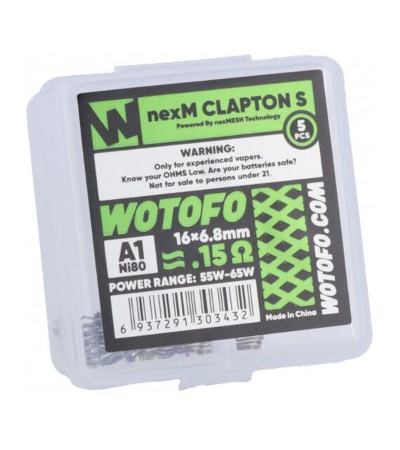 Wotofo nexM Clapton S 0,15 Ohm Wire