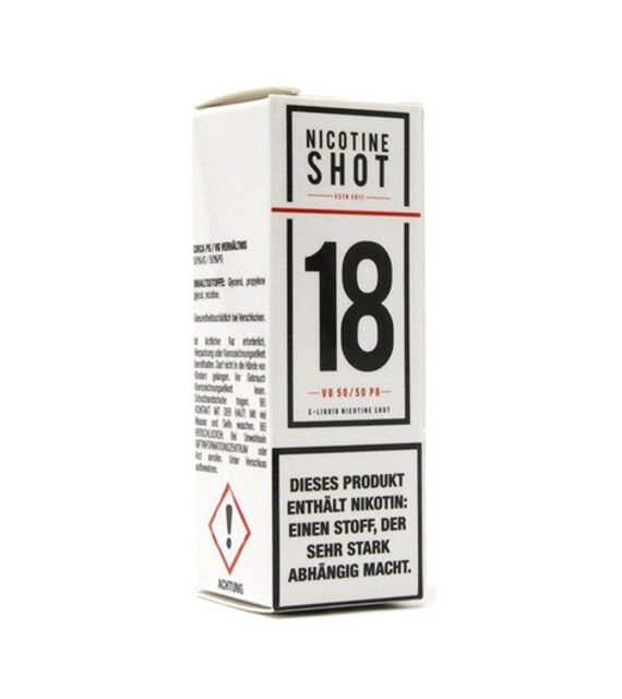 Nikotin Shot Booster 18mg