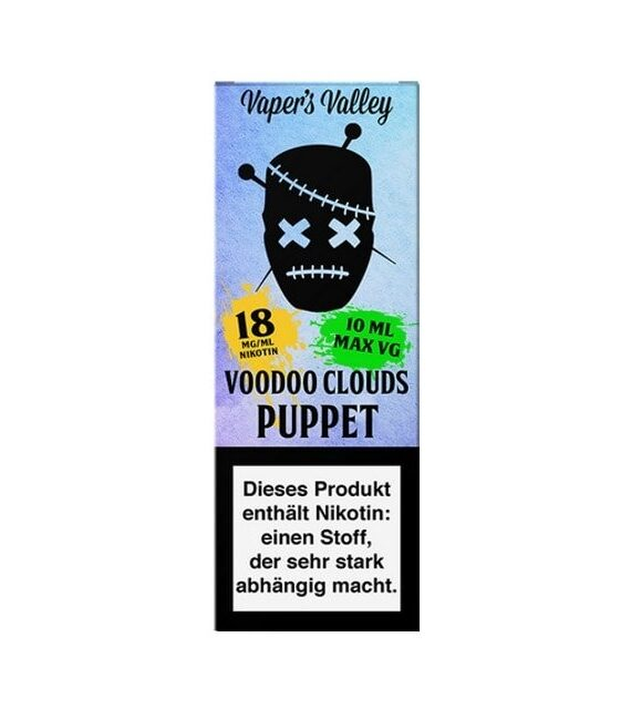 Puppet – Voodoo Clouds 18mg Shot