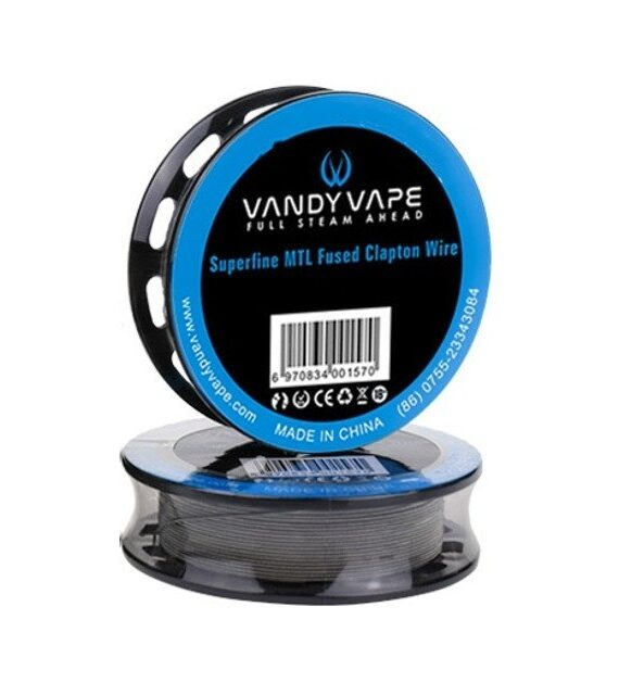 Superfine MTL Clapton Wire – Vandy Vape Wickeldraht