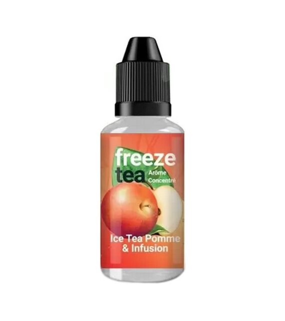 Apple Ice Tea Infusion Freeze Tea Aroma