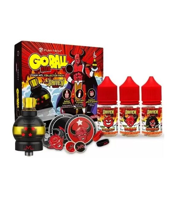 GoBall Mini Collector Pack Fumytech MTL Verdampfer