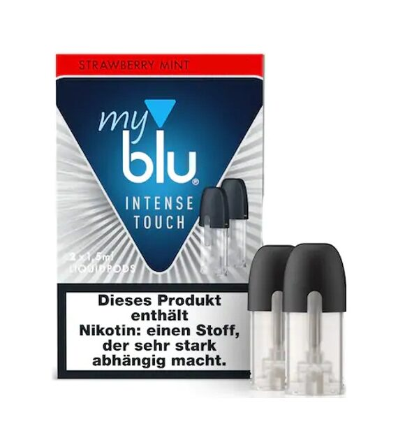 Strawberry Mint My Blu Intense Touch Liquidpods
