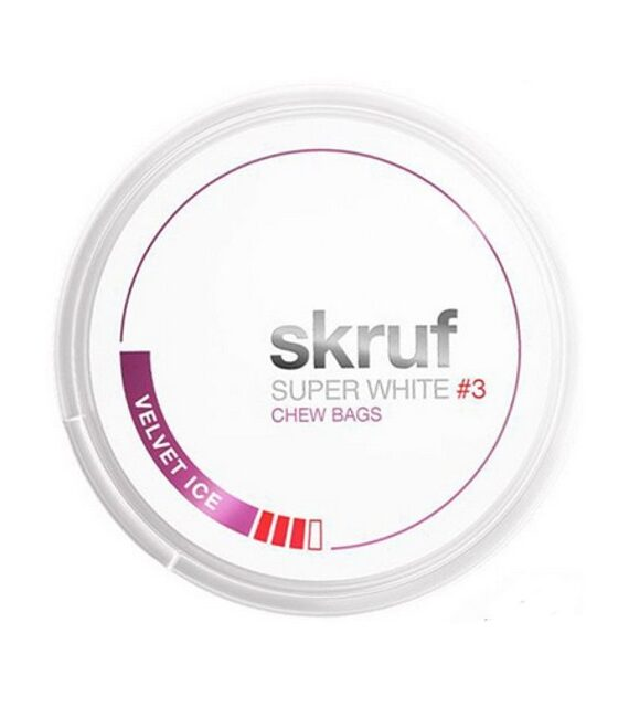 Velvet Ice Skruf Super White Chew Bags
