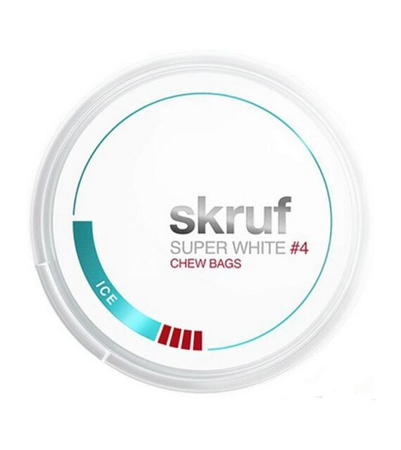 Ice Skruf Super White Chew Bags