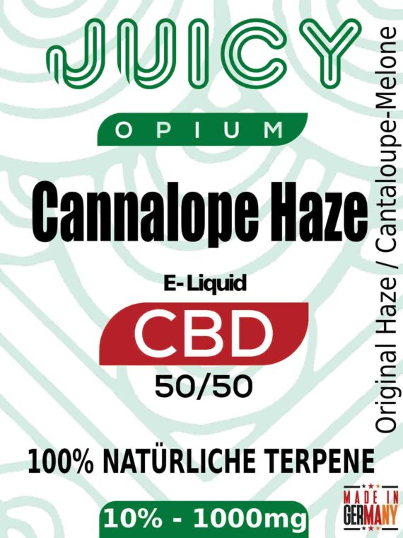 Cantaloupe Haze Juicy Opium CBD Liquid Terpene
