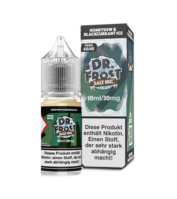 Honeydew Blackcurrant Ice DR. FROST Nikotinsalz Liquid