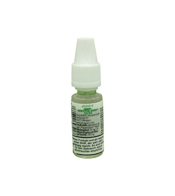 Nikotin Shot 20mg 50/50 – Juicy Opium