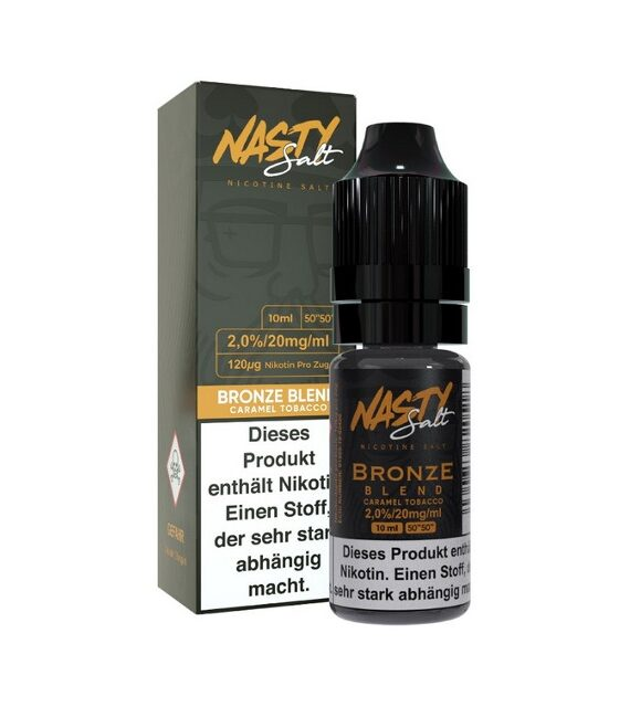 Bronze Blend Nasty Juice Nikotin Salz Liquid
